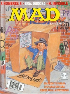 Go to MAD Magazine #15 • Mexico • 3rd Edition - Enigma