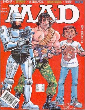 MAD Magazine #16 • Mexico • 3rd Edition - Enigma