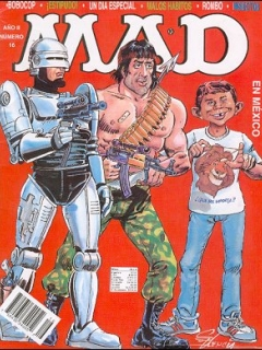 Go to MAD Magazine #16 • Mexico • 3rd Edition - Enigma