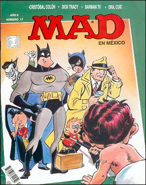 MAD Magazine #17 • Mexico • 3rd Edition - Enigma