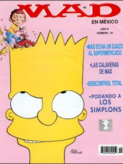 Go to MAD Magazine #18 • Mexico • 3rd Edition - Enigma
