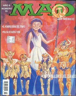 MAD Magazine #19 • Mexico • 3rd Edition - Enigma