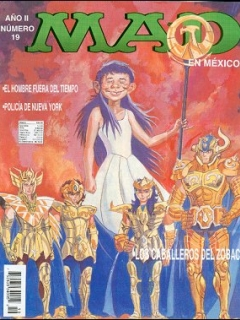 Go to MAD Magazine #19 • Mexico • 3rd Edition - Enigma
