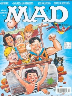 Go to MAD Magazine #20 • Mexico • 3rd Edition - Enigma
