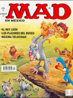 Go to MAD Magazine #21 • Mexico • 3rd Edition - Enigma