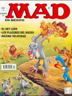 MAD Magazine #21 • Mexico • 3rd Edition - Enigma