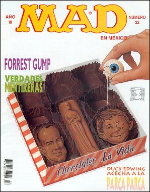 MAD Magazine #22 • Mexico • 3rd Edition - Enigma