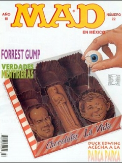 MAD Magazine #22 • Mexico • 3rd Edition - Enigma