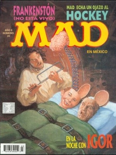 Go to MAD Magazine #23 • Mexico • 3rd Edition - Enigma