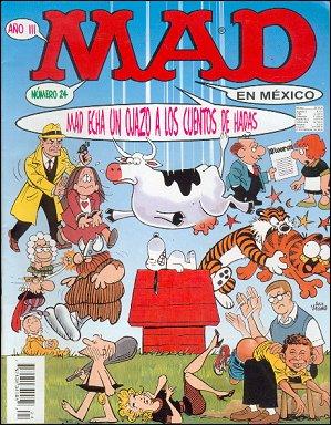 MAD Magazine #24 • Mexico • 3rd Edition - Enigma