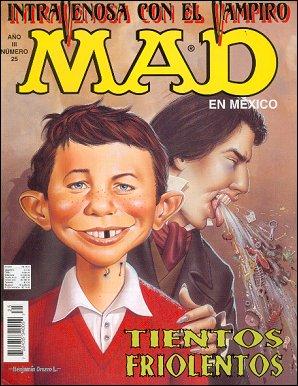 MAD Magazine #25 • Mexico • 3rd Edition - Enigma