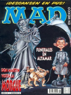 Go to MAD Magazine #26 • Mexico • 3rd Edition - Enigma