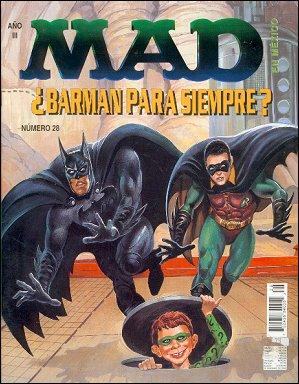 MAD Magazine #28 • Mexico • 3rd Edition - Enigma