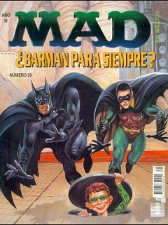 Go to MAD Magazine #28 • Mexico • 3rd Edition - Enigma