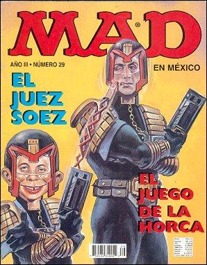 MAD Magazine #29 • Mexico • 3rd Edition - Enigma