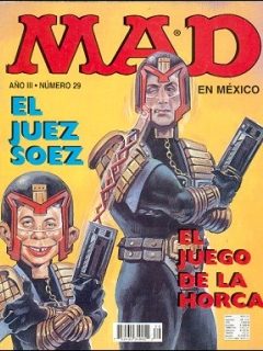 Go to MAD Magazine #29 • Mexico • 3rd Edition - Enigma