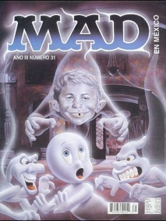 Go to MAD Magazine #31 • Mexico • 3rd Edition - Enigma
