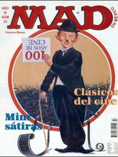 Go to MAD Magazine #33 • Mexico • 3rd Edition - Enigma