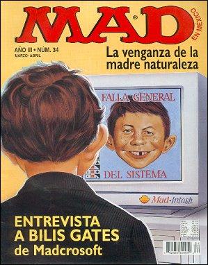 MAD Magazine #34 • Mexico • 3rd Edition - Enigma