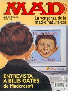 Go to MAD Magazine #34 • Mexico • 3rd Edition - Enigma