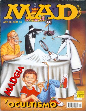 MAD Magazine #35 • Mexico • 3rd Edition - Enigma