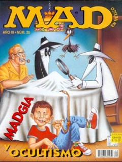 Go to MAD Magazine #35 • Mexico • 3rd Edition - Enigma