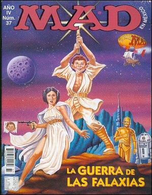 MAD Magazine #37 • Mexico • 3rd Edition - Enigma