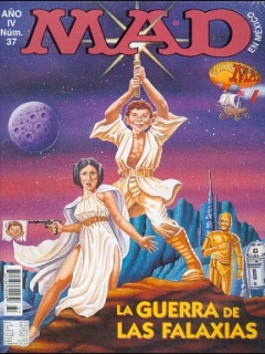 Go to MAD Magazine #37 • Mexico • 3rd Edition - Enigma