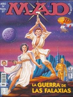 MAD Magazine #37 • Mexico • 3rd Edition - Enigma