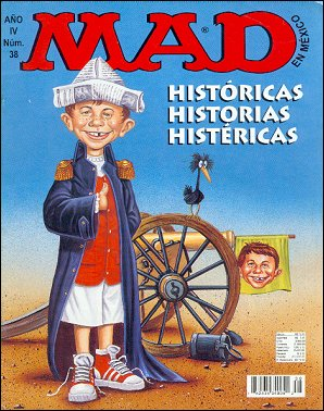 MAD Magazine #38 • Mexico • 3rd Edition - Enigma