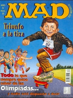 Go to MAD Magazine #39 • Mexico • 3rd Edition - Enigma