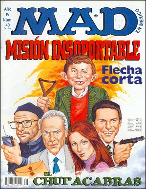 MAD Magazine #40 • Mexico • 3rd Edition - Enigma