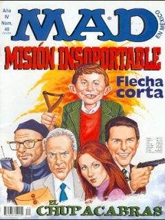 Go to MAD Magazine #40 • Mexico • 3rd Edition - Enigma