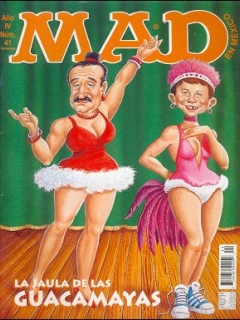 Go to MAD Magazine #41 • Mexico • 3rd Edition - Enigma