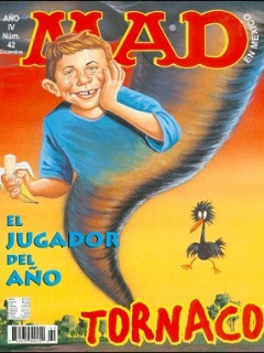 Go to MAD Magazine #42 • Mexico • 3rd Edition - Enigma
