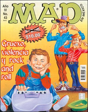 MAD Magazine #43 • Mexico • 3rd Edition - Enigma