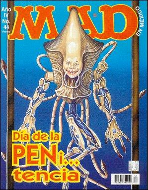 MAD Magazine #44 • Mexico • 3rd Edition - Enigma
