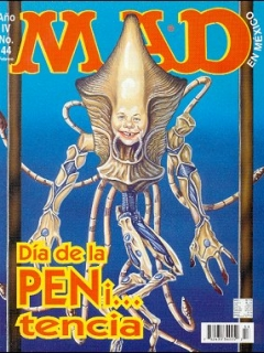 Go to MAD Magazine #44 • Mexico • 3rd Edition - Enigma