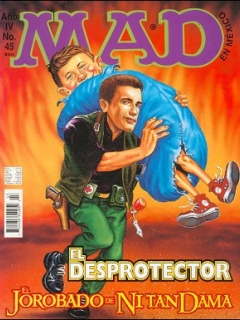 MAD Magazine #45 • Mexico • 3rd Edition - Enigma