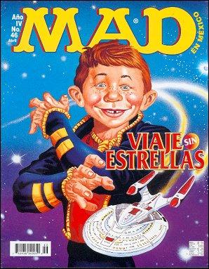 MAD Magazine #46 • Mexico • 3rd Edition - Enigma