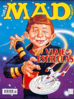 Go to MAD Magazine #46 • Mexico • 3rd Edition - Enigma