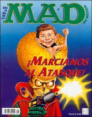 MAD Magazine #48 • Mexico • 3rd Edition - Enigma