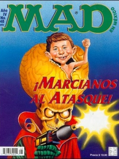 Go to MAD Magazine #48 • Mexico • 3rd Edition - Enigma