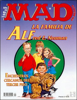 MAD Magazine #49 • Mexico • 3rd Edition - Enigma