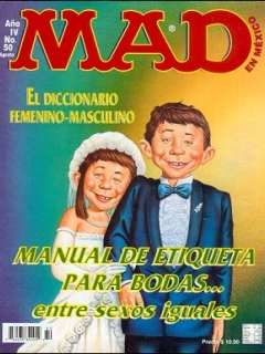 Go to MAD Magazine #50 • Mexico • 3rd Edition - Enigma