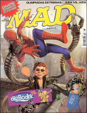 MAD Magazine #2 • Mexico • 4th Edition - Mina