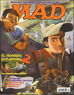 MAD Magazine #4 • Mexico • 4th Edition - Mina