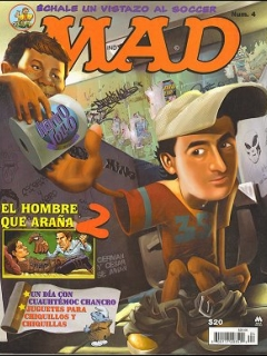 Go to MAD Magazine #4 • Mexico • 4th Edition - Mina