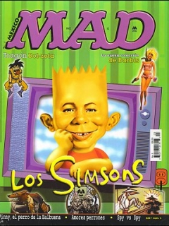 Go to MAD Magazine #5 • Mexico • 4th Edition - Mina