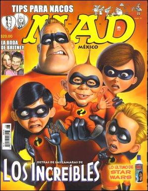 MAD Magazine #6 • Mexico • 4th Edition - Mina